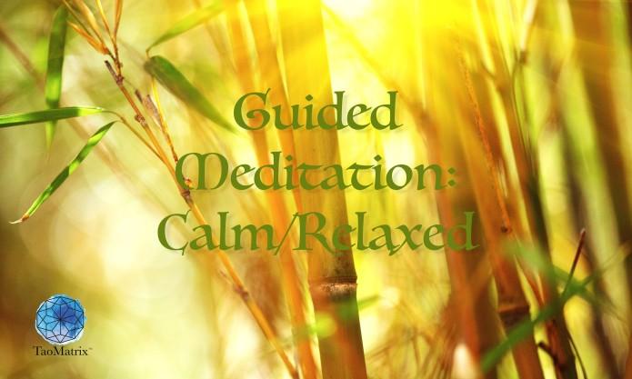 Guided Meditation calm